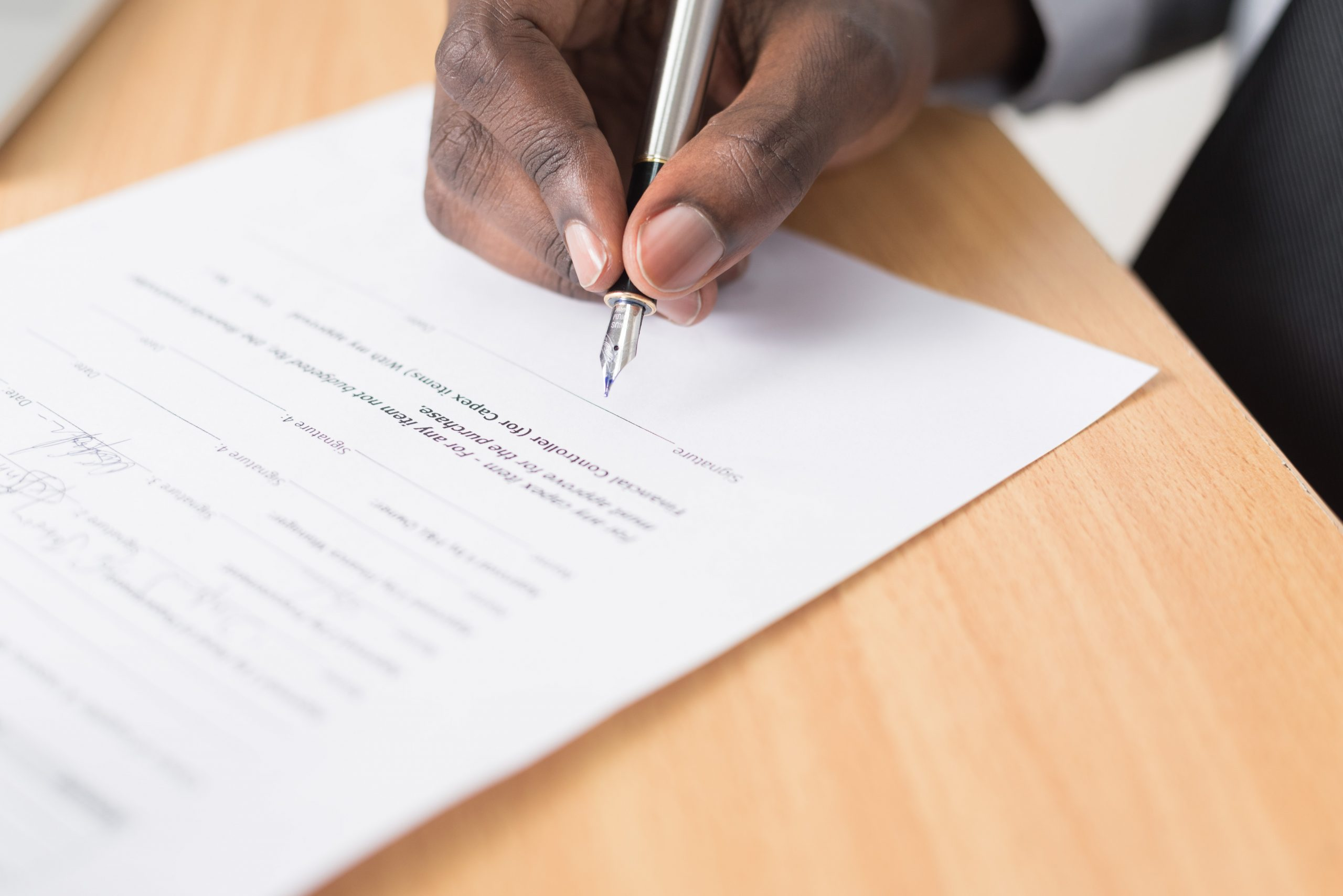 Accident Settlement Contract